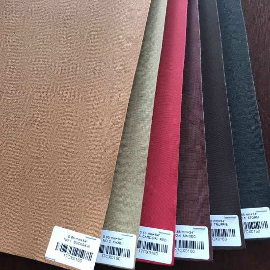 PU Thermo Leather for Diary Cover